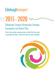 The new Edinburgh Compact Partnership Strategic Framework and Action plan runs from 2015 to 2020,