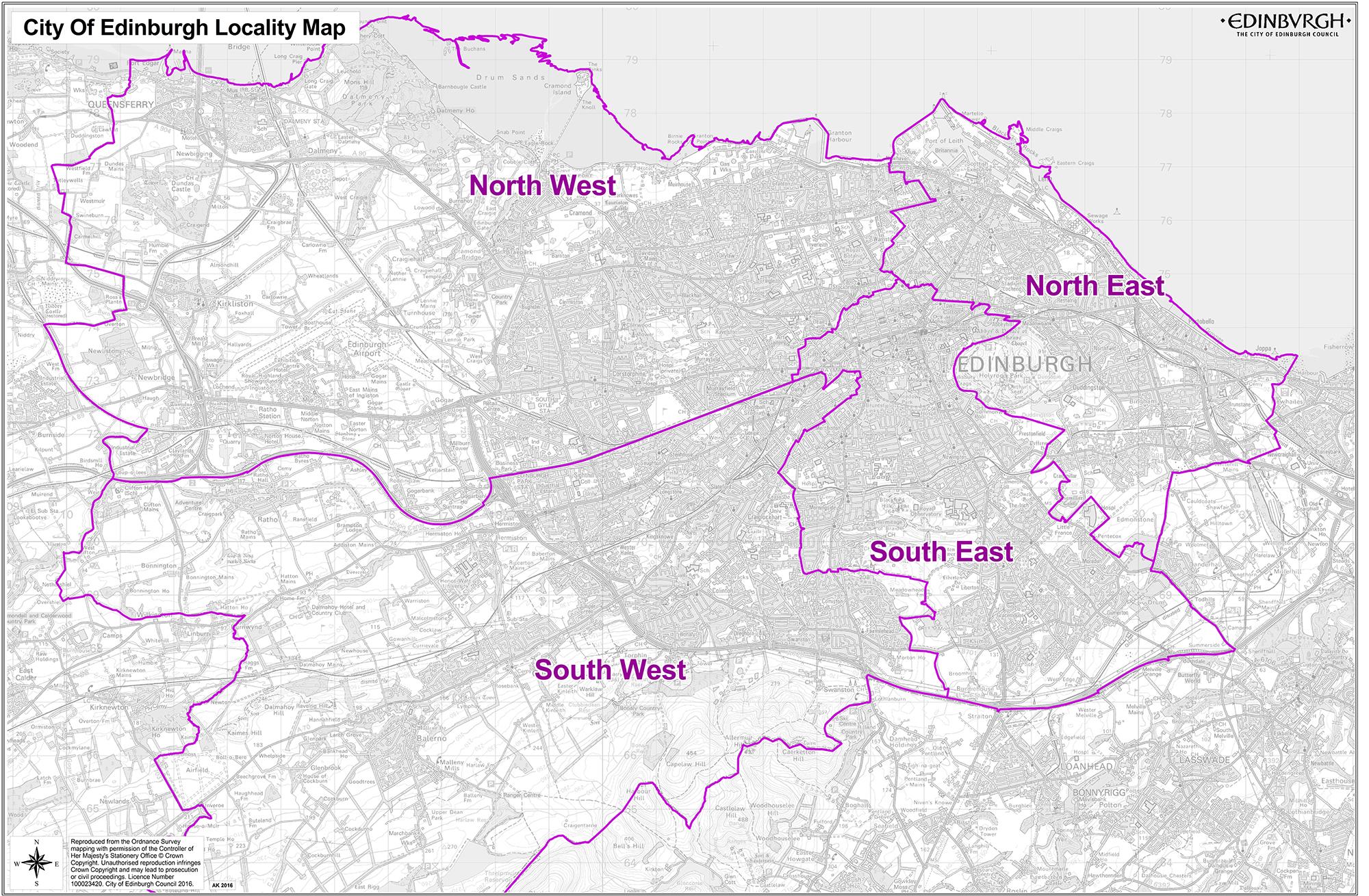 Localities